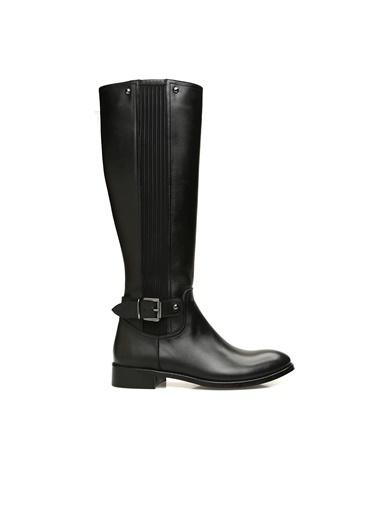 Divarese Divarese 5023829 Kadın Deri Çizme Siyah